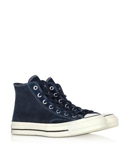 Chuck 70 - Черные Высокие Кожаные Кроссовки Converse Limited Edition 164931C 458 OBSIDIAN/EGRET/BLACK 3
