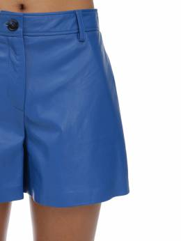 High Waist Leather Shorts Maryam Nassir Zadeh 70IDL0011-Njc50