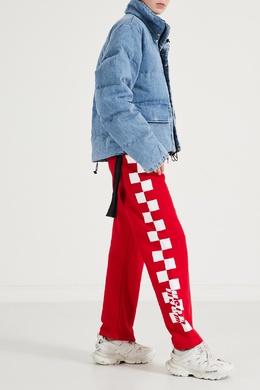 Красные брюки спортивного стиля MSGM 296158697