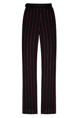 Черные брюки в розовую полоску MSGM 296158686