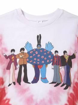 Футболка Из Хлопкового Джерси С Принтом Beatles Stella McCartney Kids 70I6SJ005-OTA4Mg2