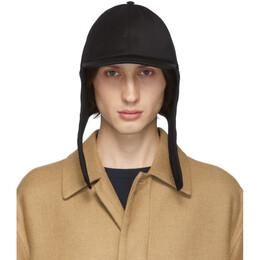 Valentino Black Valentino Garavani Wool Embroidered Cap 192476M13900503GB