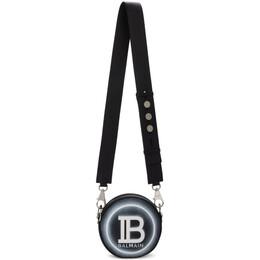 Balmain Black Logo Disco Bag 192251M17100601GB
