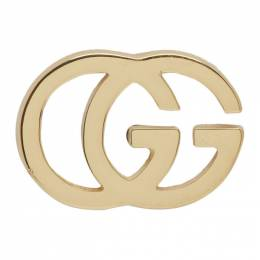 Gucci Gold GG Tissue Stud Earrings 201451F02200101GB