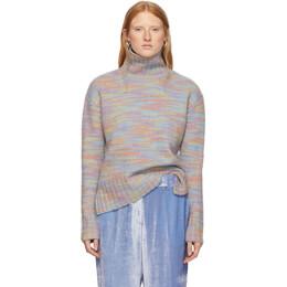 Sies Marjan Multicolored Wool and Silk Yuki Turtleneck 192885F09900301GB