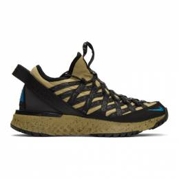 Nike Tan and Black ACG React Terra Gobe Sneakers 192011M23724913GB