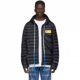 Off-White Navy Down Packable Puffer Jacket 192607M17800306GB