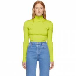 Nina Ricci Green Knit Turtleneck 192475F09900201GB
