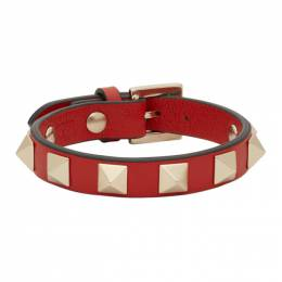 Valentino Red Valentino Garavani Undercover Edition Rockstud Rose Bracelet 192476F02001301GB