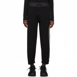 Y-3 Black Tech Knit Wide Lounge Pants 192138F08600203GB