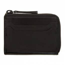 Dries Van Noten Black Zip Wallet 192358M16401001GB