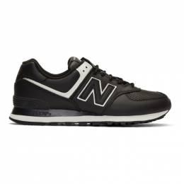 Junya Watanabe Black New Balance Edition 574 Steer Sneakers 192253M23700302GB