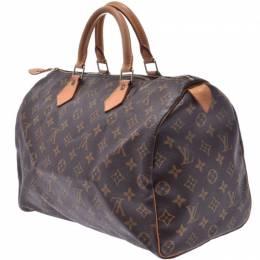 Louis Vuitton Monogram Canvas Speedy 35 Bag 236123