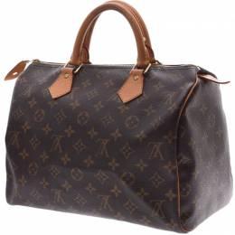 Louis Vuitton Monogram Canvas Speedy 30 Bag 236121