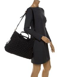 Louis Vuitton Black Monogram Denim Neo Cabby MM Bag 232974