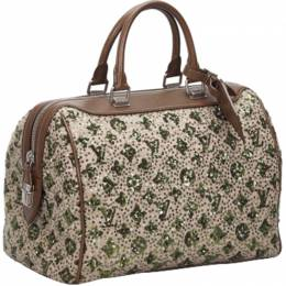 Louis Vuitton Brown/Khaki Sequin Monogram Sunshine Express Speedy 30 Bag 231340