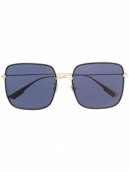 Dior Eyewear - embellished-trim square sunglasses RBYDIOR3F95663369000