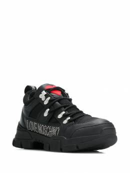 Love Moschino - logo low-top sneakers 5555G68JD09559655900