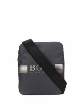 Boss Hugo Boss - сумка-мессенджер с прорезиненным логотипом 96999955563550000000