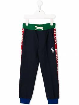 Ralph Lauren Kids - спортивные брюки в стиле колор-блок 33566095589335000000