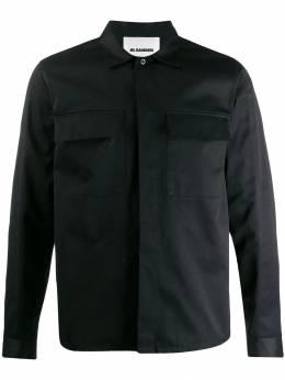 Jil Sander - рубашка с потайной застежкой P359806MP55966695550