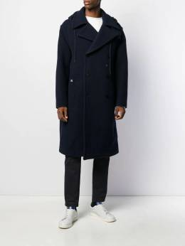 Lacoste - hooded oversize trenchcoat 38095665960000000000