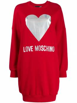 Love Moschino - foil logo jumper dress 5863M566895663966000