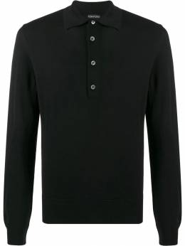 Tom Ford - knitted polo shirt 930BTM95955565630000
