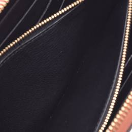 Louis Vuitton Terracotta Leather Parnassaire Lena Wallet 236132