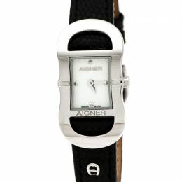 Aigner Mother of Pearl Stainless Steel Cesena A53200 Women's Wristwatch 23 mm 236111