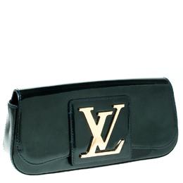 Louis Vuitton Vert Bronze Vernis Sobe Clutch 232961
