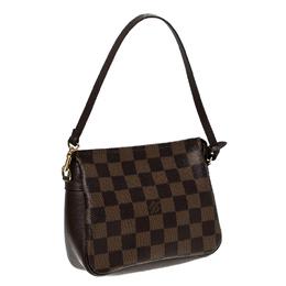 Louis Vuitton Damier Ebene Canvas Trousse Pochette Bag 232964