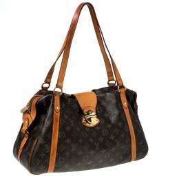 Louis Vuitton Brown Monogram Canvas Stresa GM Bag 233044