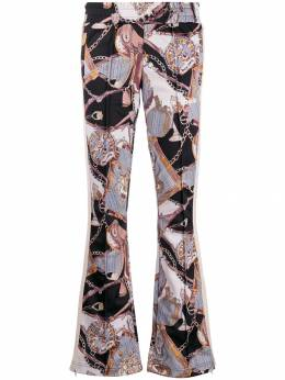 Palm Angels - low-rise patterned track pants A663E993856589996955