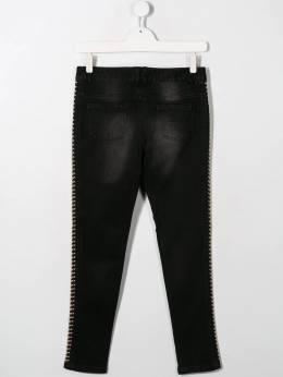 Twin-Set - side stud zip detail jeans GJ038695666968000000