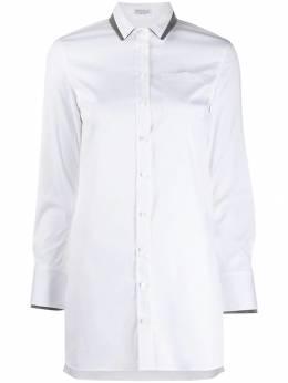 Brunello Cucinelli - contrast layered shirt 99N3536CX69695669635