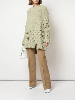 Mm6 Maison Margiela - bobble crochet knit jumper GP6935S9686995593666