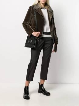 Brunello Cucinelli - side stripe cropped trousers 30P63659566963900000