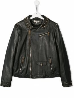 Twin-set байкерская куртка с заклепками 192GJ2020