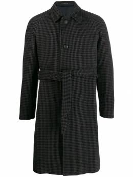 Tagliatore - houndstooth single-breasted coat S33FIC99695668985000