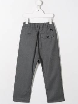 Paolo Pecora Kids - pleated trousers 93395665305000000000