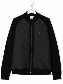 Boss Kids - TEEN quilted panel bomber jacket E6369B95503669000000