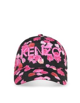 Кепка с Розовыми Бегониями Kenzo F962AC401F08.30 ROSE BEGONIA