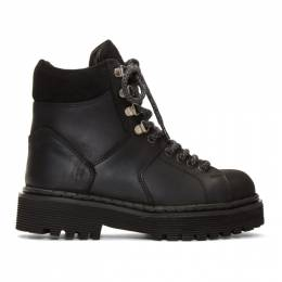 Won Hundred Black Mila Tracking Boots 192636F11300106GB