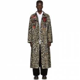 Raf Simons Off-White Animalier Car Patches Coat 192287M17600802GB