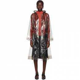 Proenza Schouler Black PSWL Transparent Raincoat 192288F05900701GB