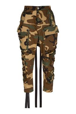 Камуфляжные брюки-карго Unravel Project 2852151885