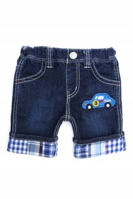 Джинсовые шорты с отделкой Miki House 3018159764