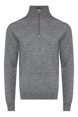 Серый свитер с застежкой-молнией Paul Smith 1924159198