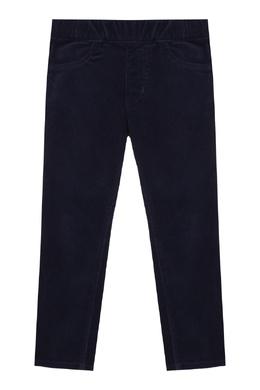 Темно-синие брюки с эластичным поясом Miki House 3018159646